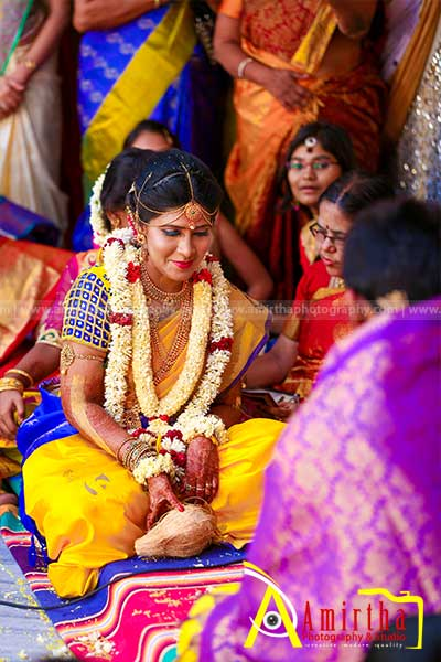 aishwarya sathishkumar- Sourashtra Wedding Photography in Madurai