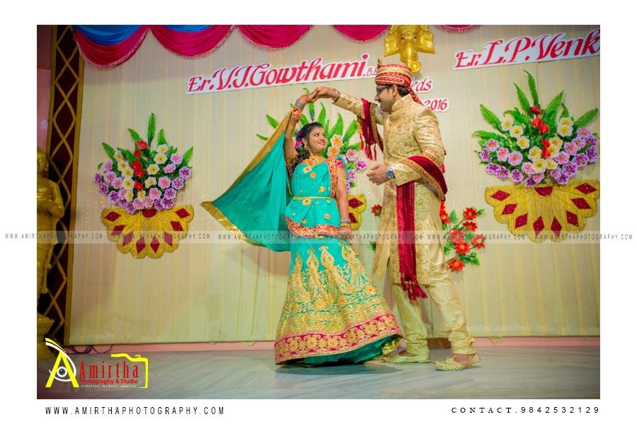 Creative Sourashtra wedding photographer in Madurai