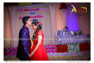 Candid Engagement Photography in Madurai