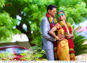 Sabarish Kanna Weds Nanditha – Sourashtra Wedding Photographers in Madurai