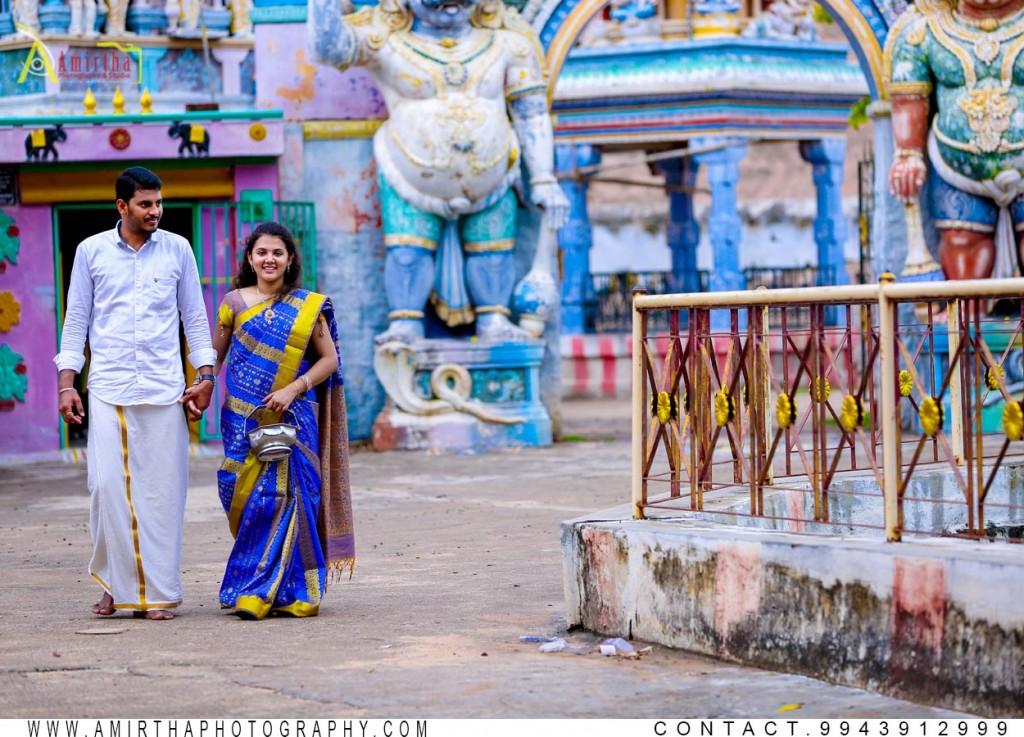 Saravanan Vaishnavi Pre wedding Shoot in Madurai India 06 (2)